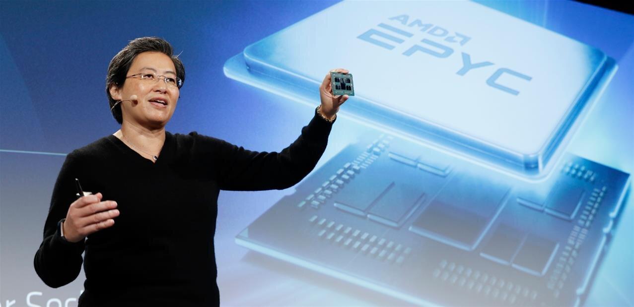 Rome : AMD dévoile ses EPYCen 7 nm avec un nouveau design, jusqu'à 64 cœurs et 128 lignes PCIe 4.0