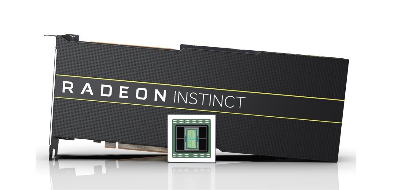 Radeon Instinct MI50 et MI60 : le 7 nm doit redonner de la vigueur aux GPU Vega d'AMD