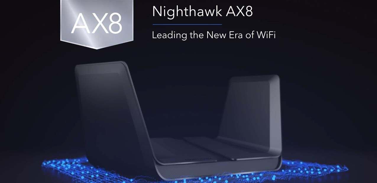 Premiers routeurs 802.11ax (alias Wi-Fi 6) Netgear : les Nighthawk AX8 et AX12