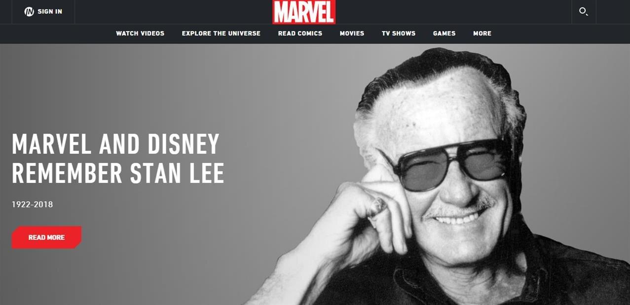 Adieu Stan Lee, les super héros Marvel en deuil… Excelsior !