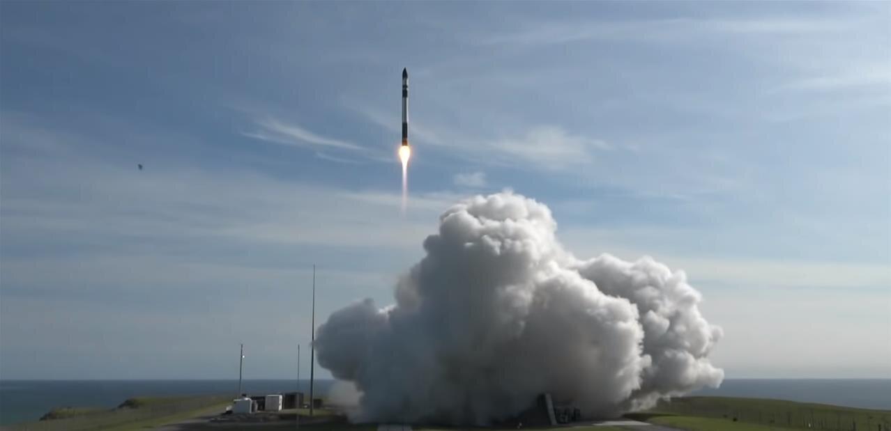 Fusée Electron : lancement réussi pour Rocket Lab, six satellites mis en orbite