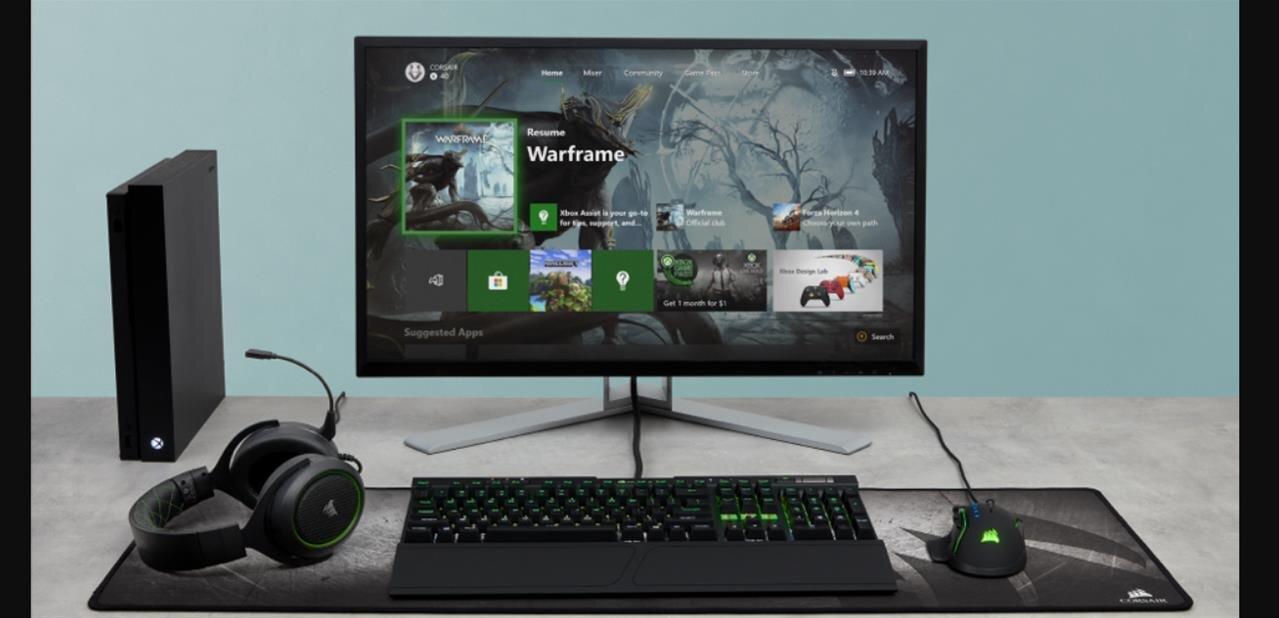 Xbox One : la mise à jour de novembre déployée, les claviers et souris supportés