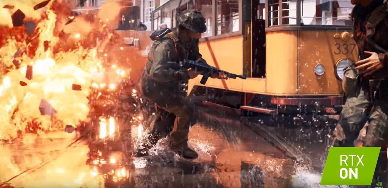 Premiers tests pour le ray tracing de Battlefield V, NVIDIA multiplie les annonces RTX/DLSS