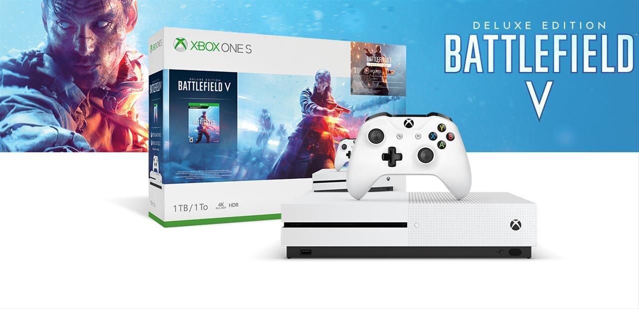 Xbox One S de 1 To avec un jeu au choix à 199,99 € #BlackFridayWeek