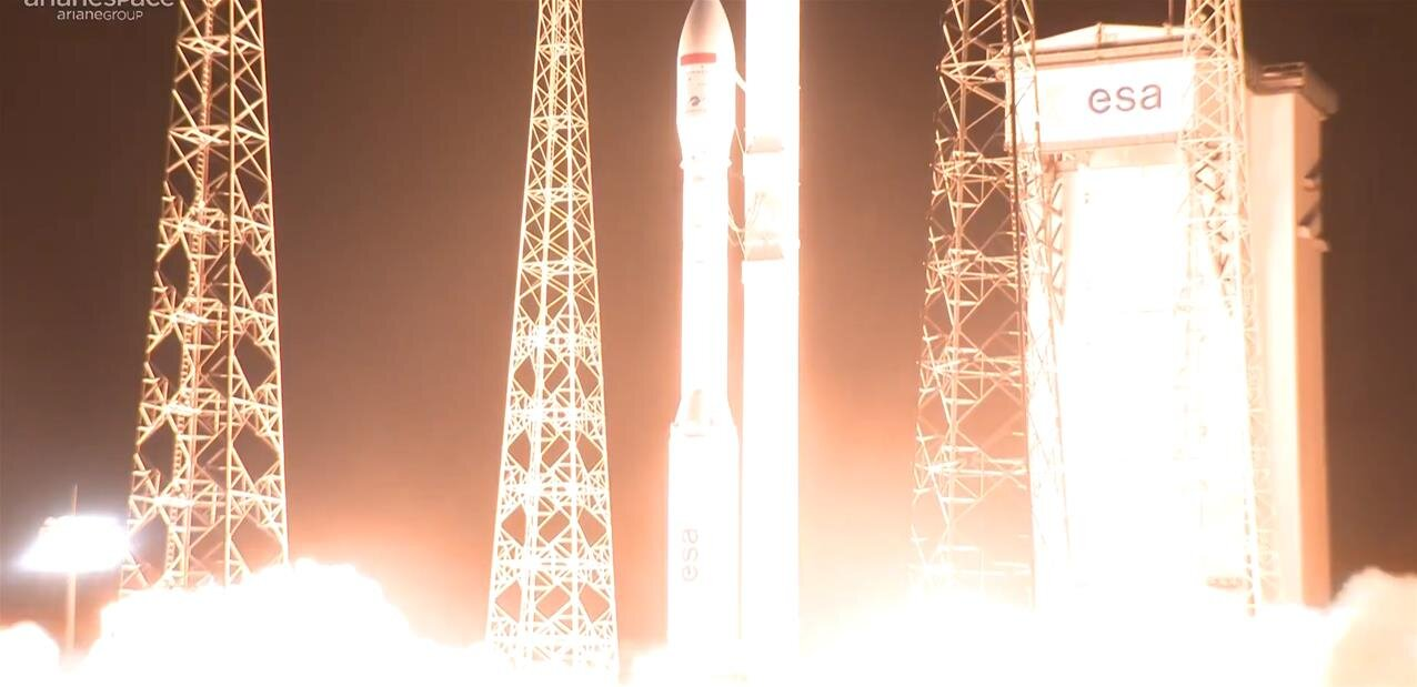 Arianespace et Vega : lancement et mise en orbite réussis pour le satellite Mohammed VI-B