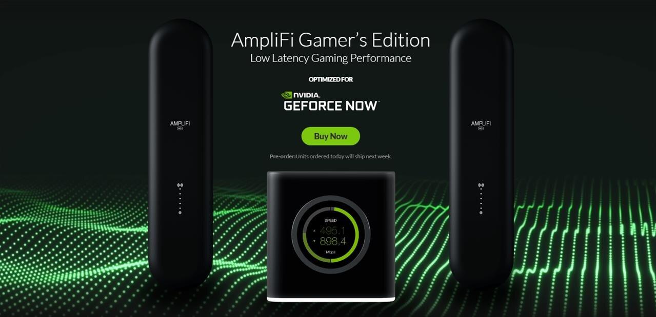 Ubiquiti s'associe à NVIDIA pour un routeur mesh AmpliFi avec fonctionnalités « Gaming »