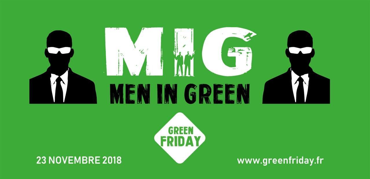 Le Green Friday s'oppose au Black Friday et « à la consommation irresponsable qu'il entraîne »
