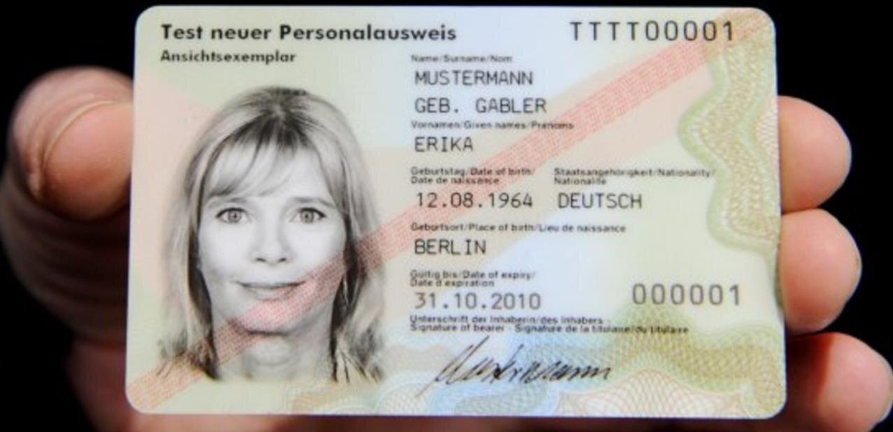 En Allemagne, il était possible de contourner l'identification en ligne via la puce RFID des cartes d'identité