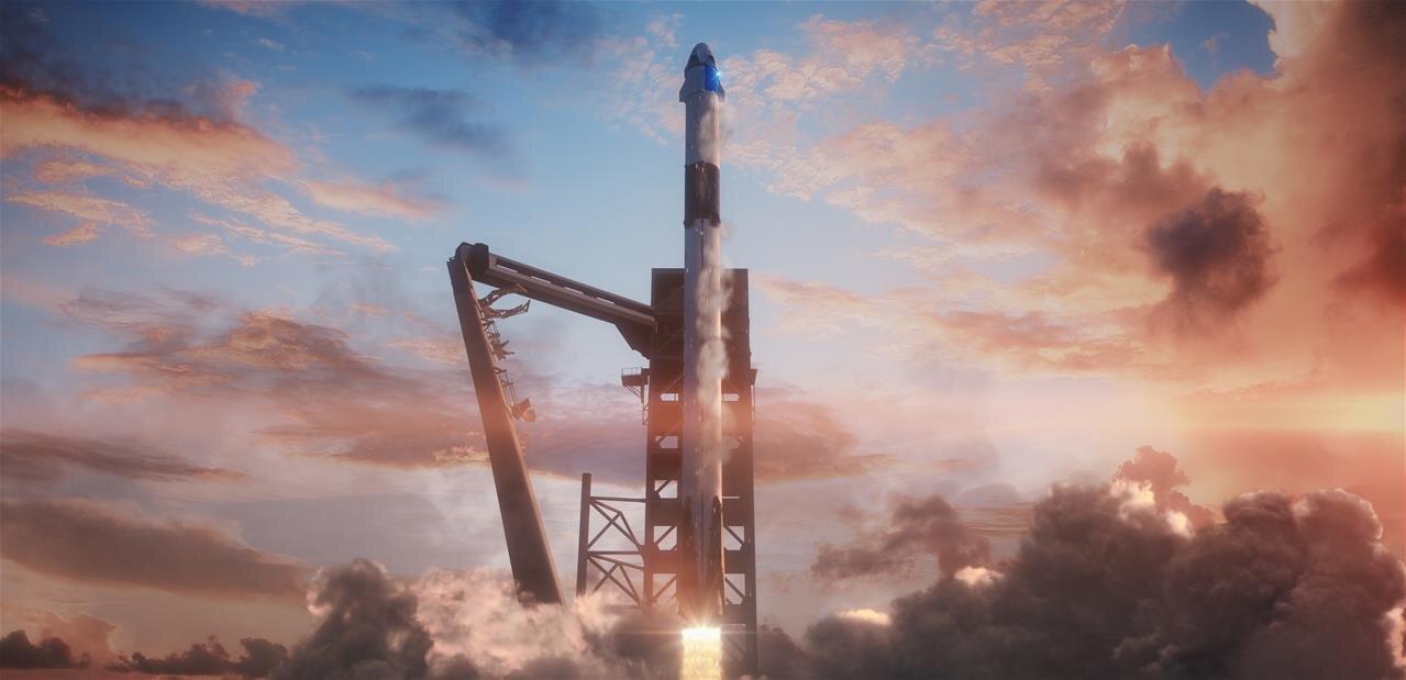 Demain, suivez en direct le premier (et important) lancement de Crew Dragon par SpaceX