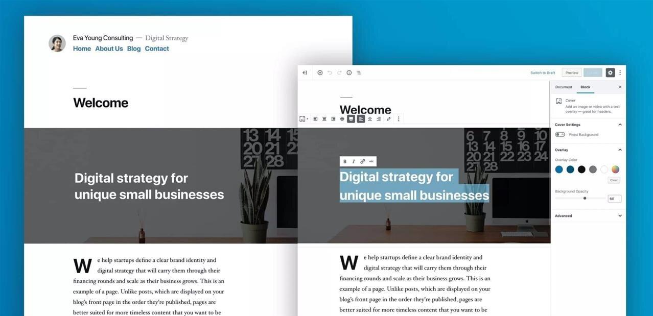 Wordpress 5.0 Bebo est disponible, avec un nouvel éditeur par blocs