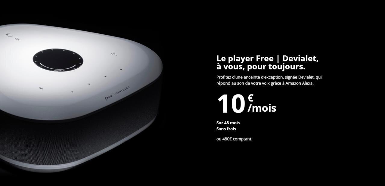 Freebox Delta Player Devialet : « les gens veulent avant tout consommer des contenus multimédias »