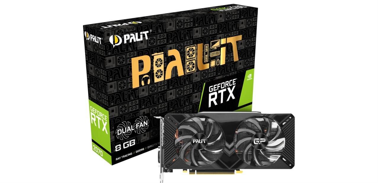 GeForce RTX 2070 Dual de Palit avec Battlefield V : 479,31 €