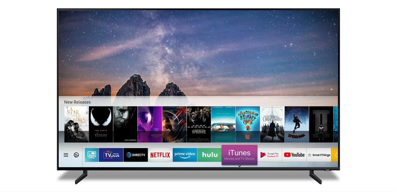 Apple iTunes et AirPlay 2 débarqueront sur certaines TV Samsung au printemps