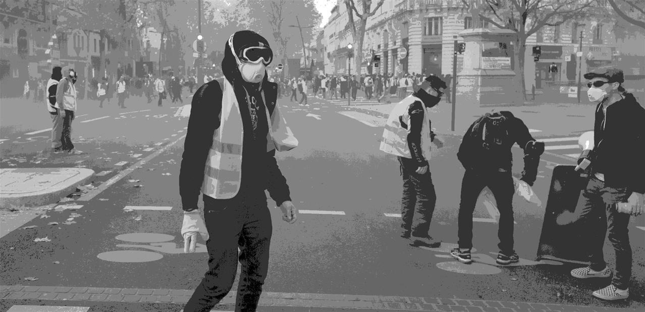 Gilets jaunes: les pistes du futur arsenal contre les manifestations violentes