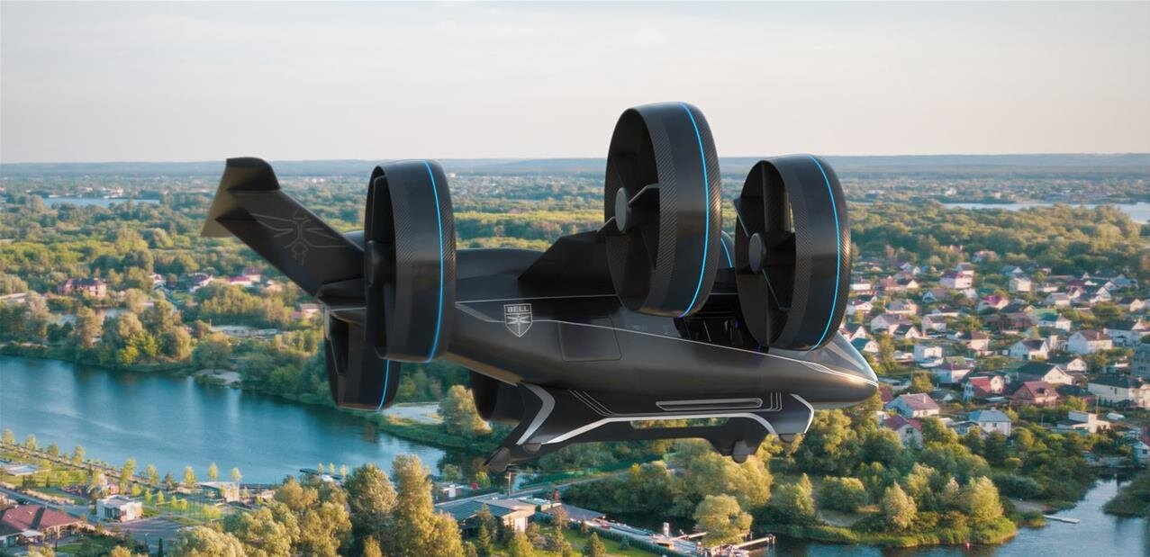 Bell et Thales présentent un prototype de taxi volant à décollage vertical, qui sera utilisé par Uber