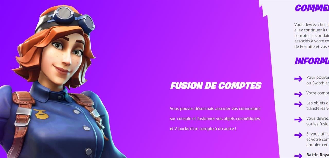 fortnite il est enfin possible de fusionner ses comptes ps4 switch et xbox one next inpact - cracer un nouveau compte fortnite