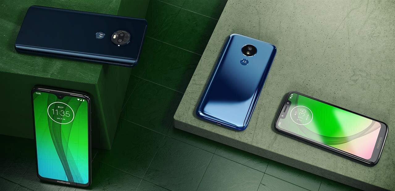 Motorola annonce quatre smartphones Moto G7 avec Android 9, de 170 à 300 euros