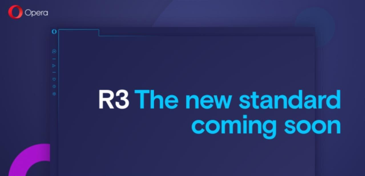Opera R3 dévoile une modernisation (légère) de son interface