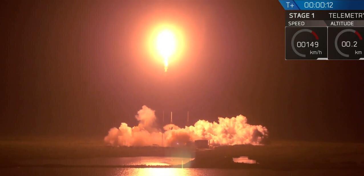 Falcon 9 : lancement et récupération réussis pour SpaceX, le module israélien en route vers la Lune