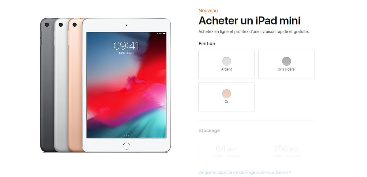 Apple modernise son iPad mini et ressuscite son iPad Air