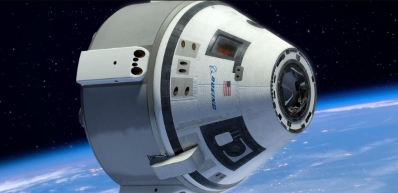 Boeing Starliner : test d'éjection réussi pour la capsule habitable, avec deux parachutes sur trois
