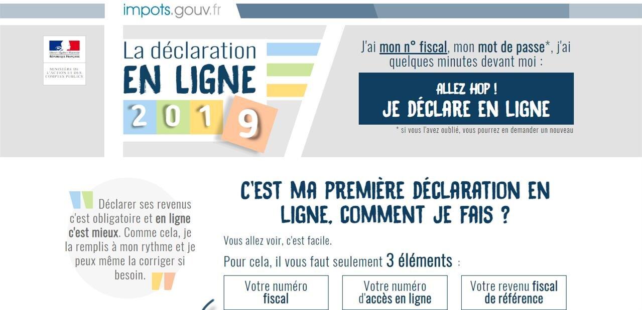 Impôts sur le revenu 2018 : la déclaration en ligne est ouverte