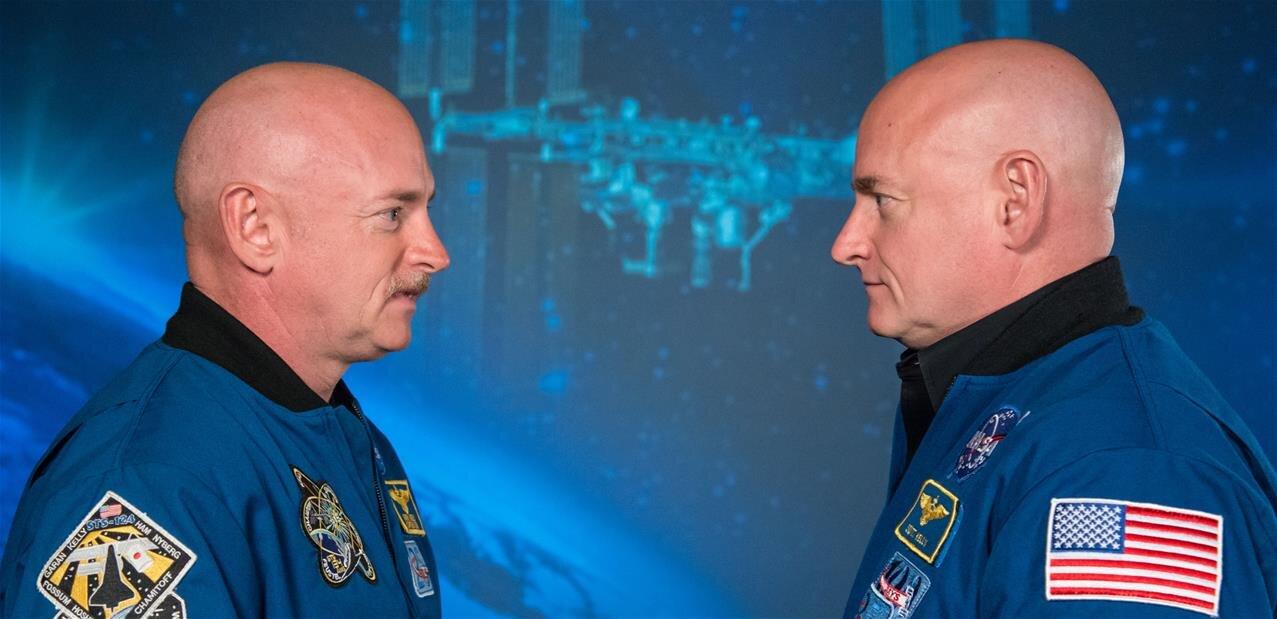 La NASA compare les jumeaux Kelly, l'un des deux ayant passé un an dans l'espace