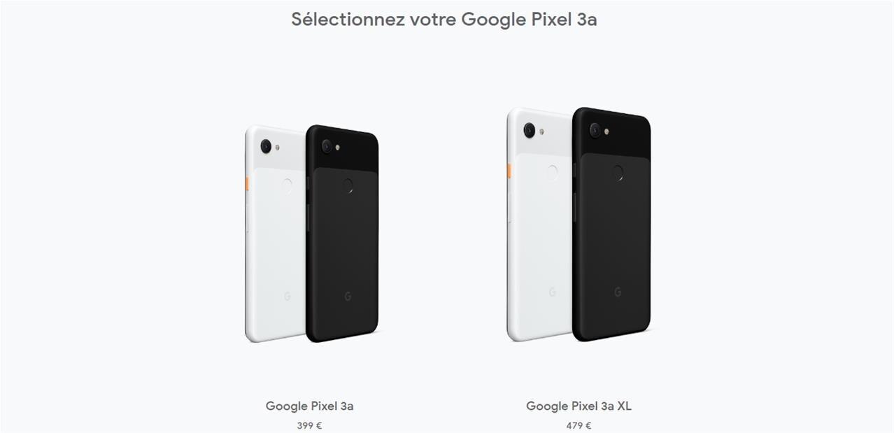 Google annonce ses Pixel 3a (XL) dès 399 euros, Nest Hub à 129 euros en France et Nest Hub Max