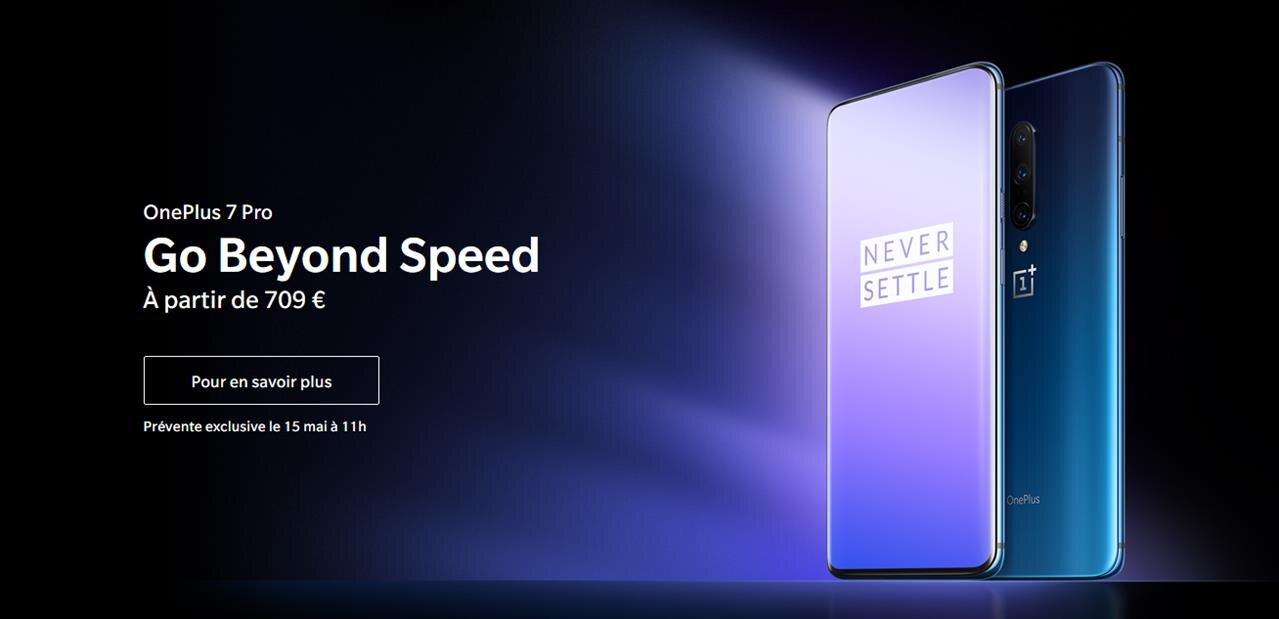 OnePlus 7 et 7 Pro sont officiels, à partir de 559 et 709 euros