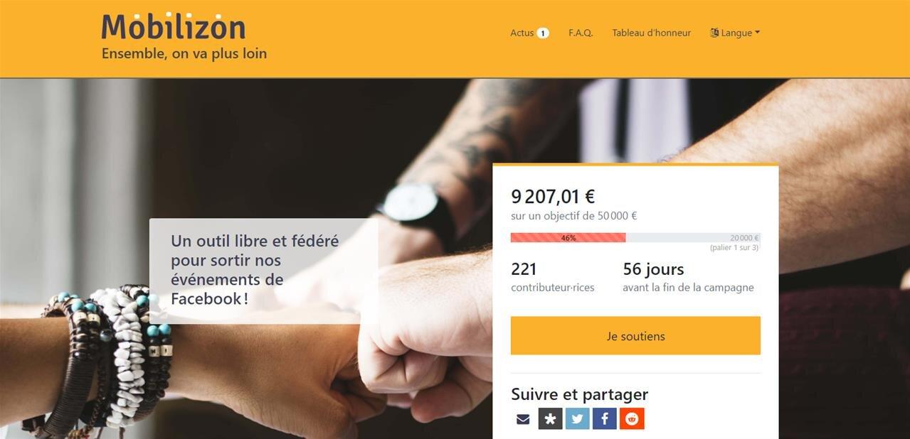 Framasoft présente Mobilizon, une alternative libre aux événements Facebook