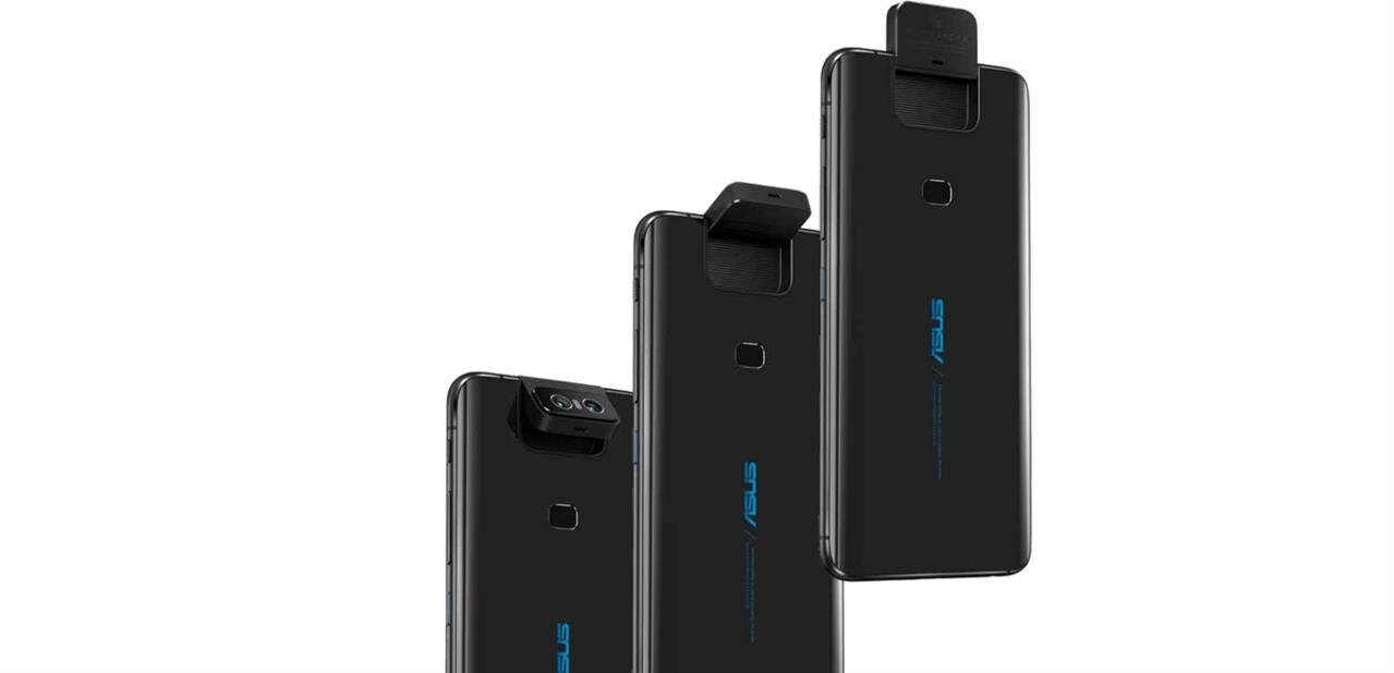 """ASUS ZenFone 6 (6,4"""") : Snapdragon 855 et appareils photo pivotants, dès 500 euros"""
