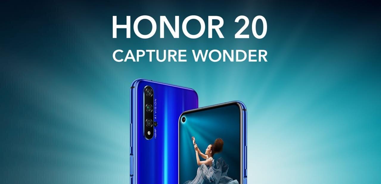 Huawei dévoile ses Honor 20 et 20 Pro avec Kirin 980, disponibles à partir de 499 euros