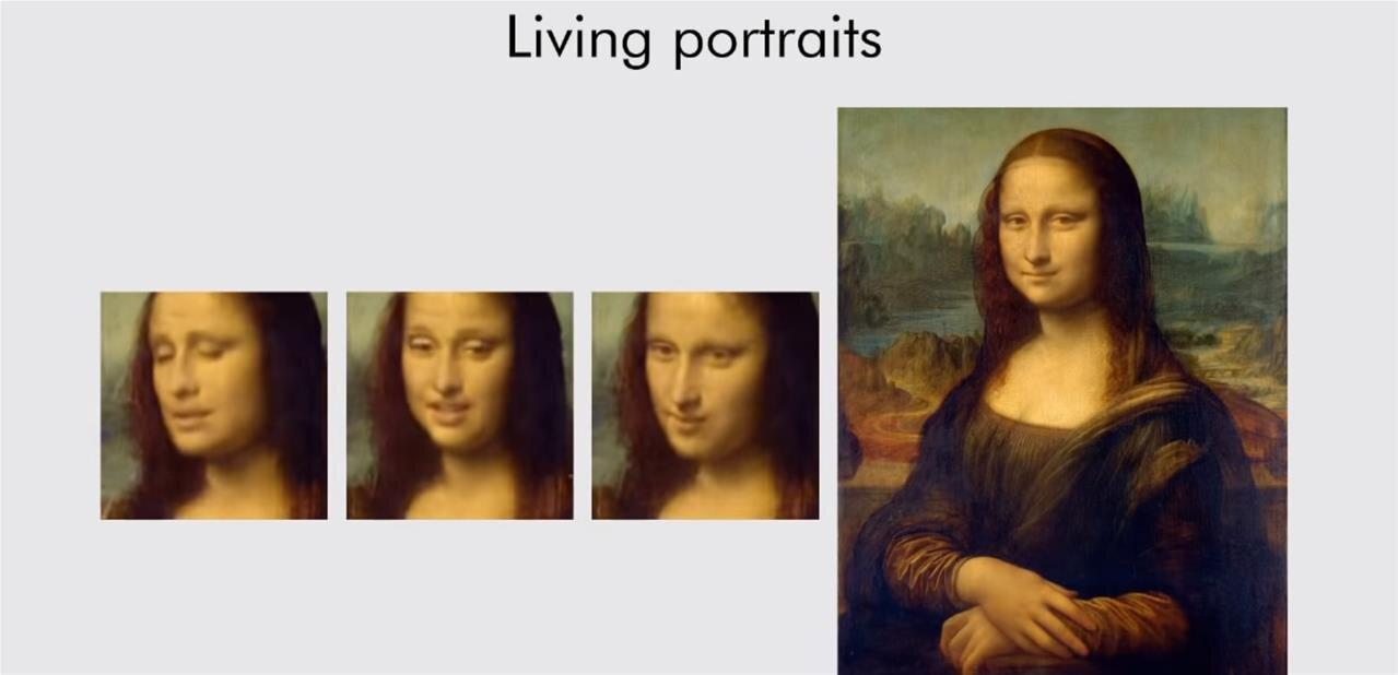 Des visages en mouvement à partir de quelques images, voire d'une seule