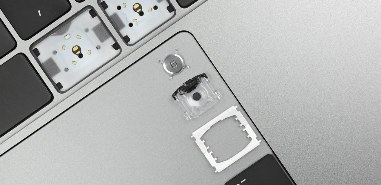 iFixit part à la découverte du nouveau clavier des MacBook Pro 2019