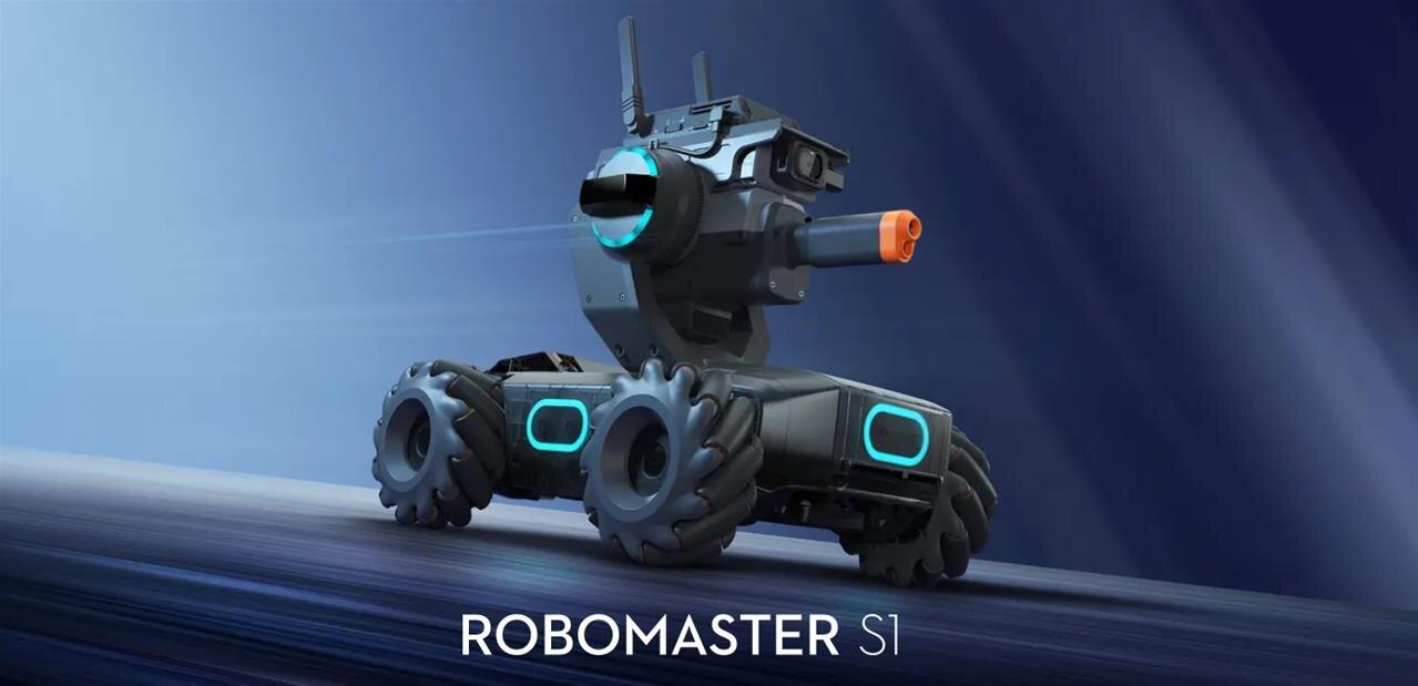 DJI Robomaster S1 : un « tank » éducatif compatible Scratch et Python à 499 dollars