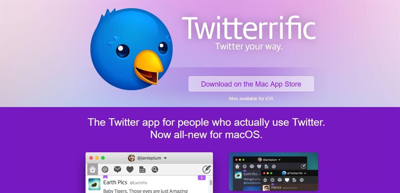 Twitterrific 6 fait le plein de nouveautés, mais ploie toujours sous les restrictions de l'API