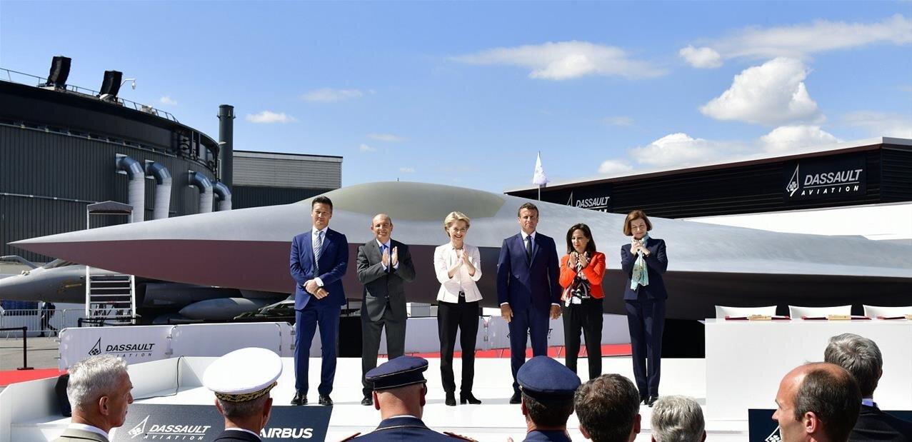 Le système de combat aérien du futur au Bourget, un vol réel prévu d'ici 2026