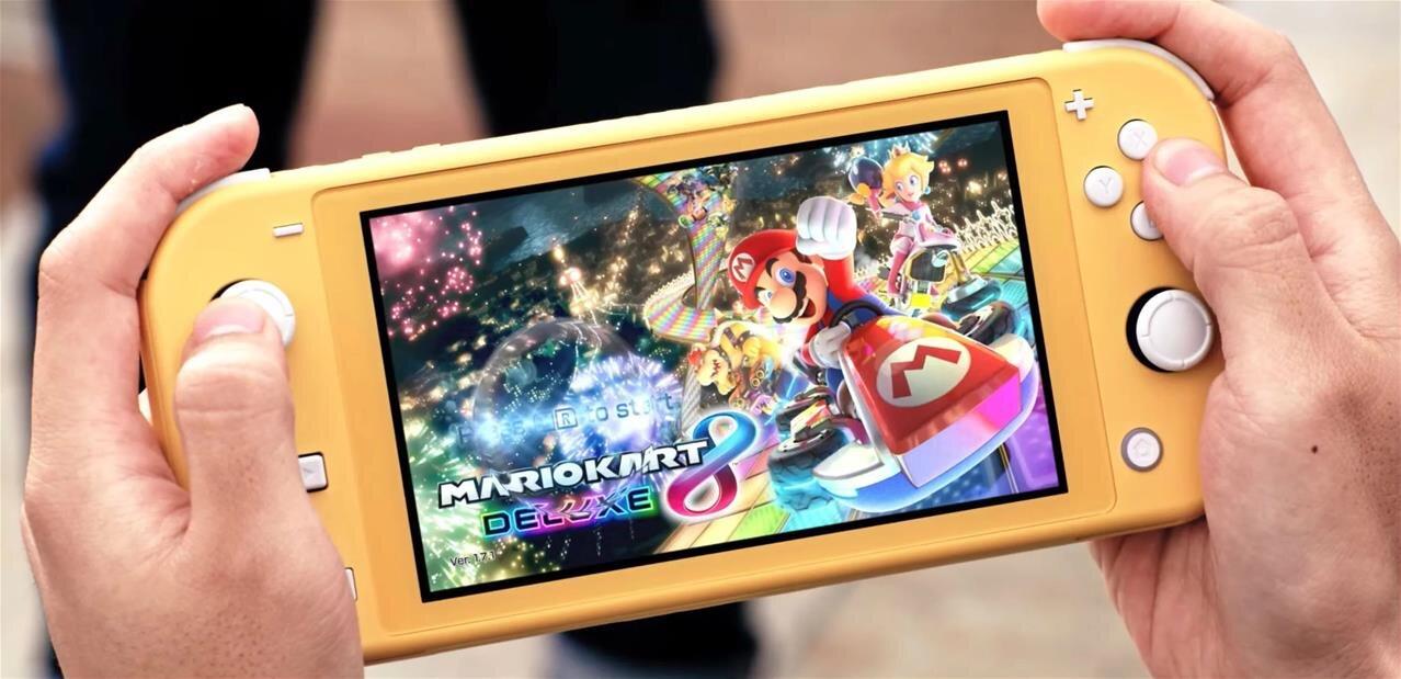 Nintendo annonce sa Switch Lite à 199 dollars pour le 20 septembre