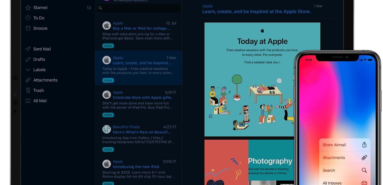 Airmail passe à l'abonnement sur iOS, colère des utilisateurs