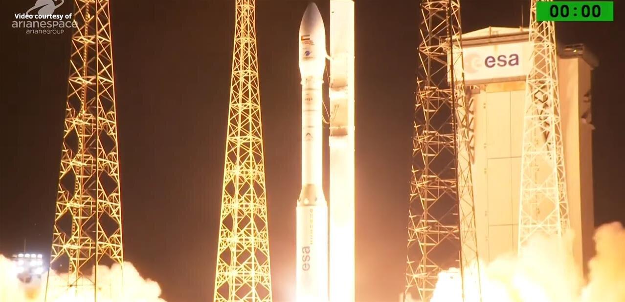 Mission VV16 avec SSMS : le lancement de Vega avec 53 satellites est reporté au 20 juin