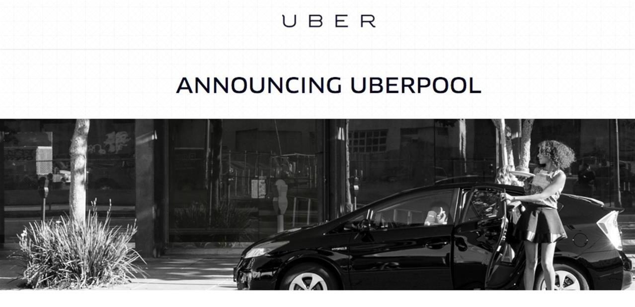 partager la route et diviser les frais uber lance uberpool paris. Black Bedroom Furniture Sets. Home Design Ideas