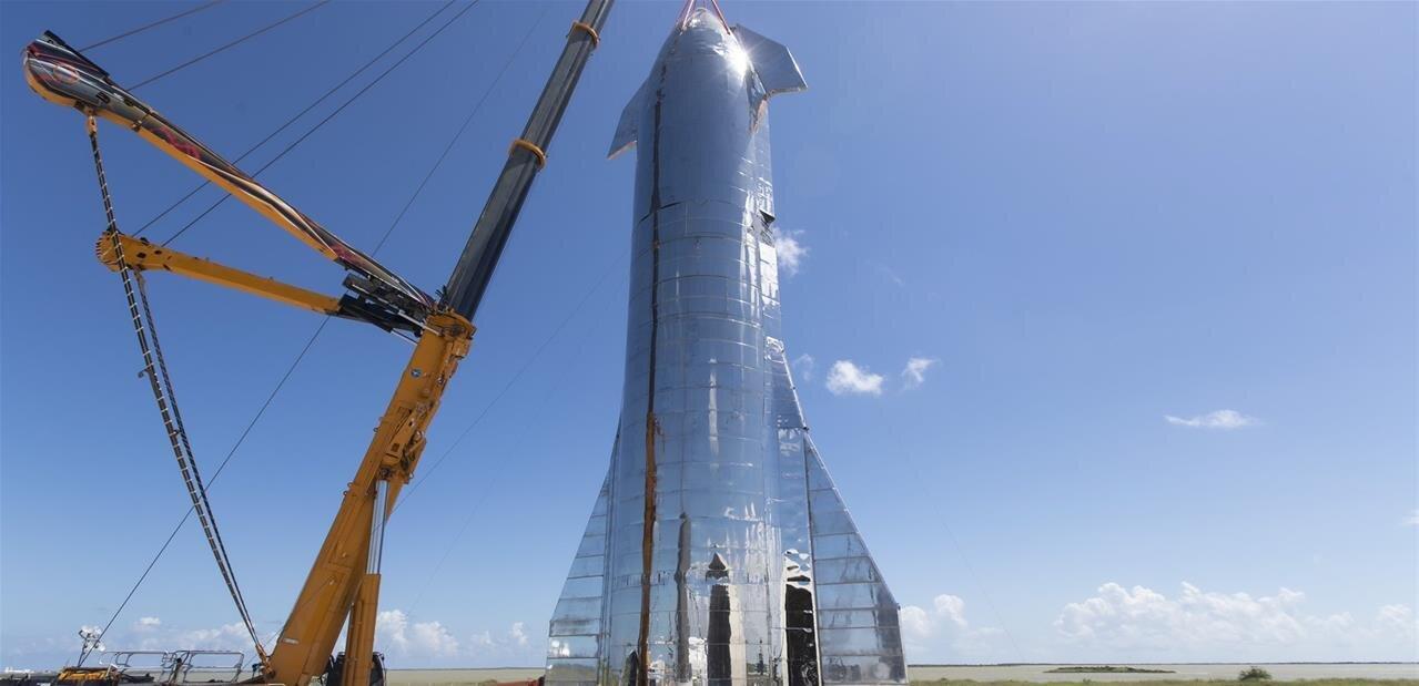 Starship : un troisième prototype explose lors des tests de mise sous pression