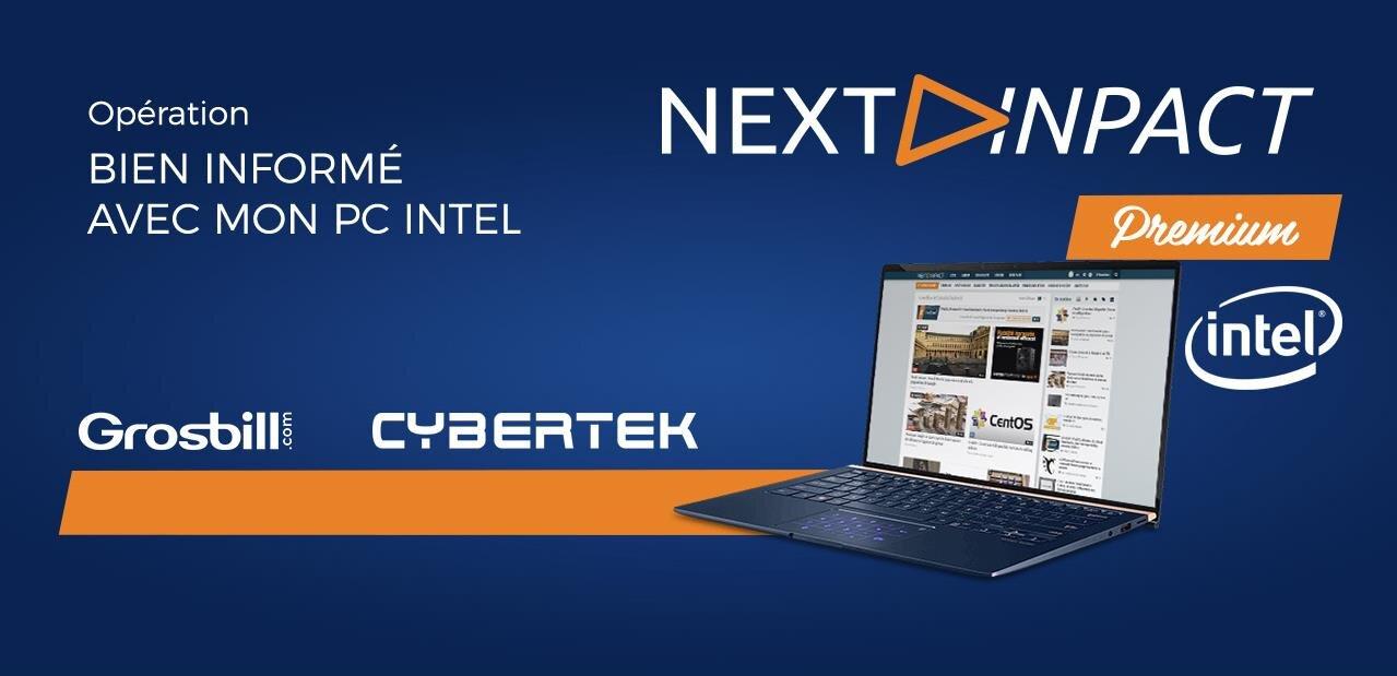 « Bien informé avec mon PC » : Intel offre 1 000 abonnements NXi/IH chez Cybertek et Grosbill