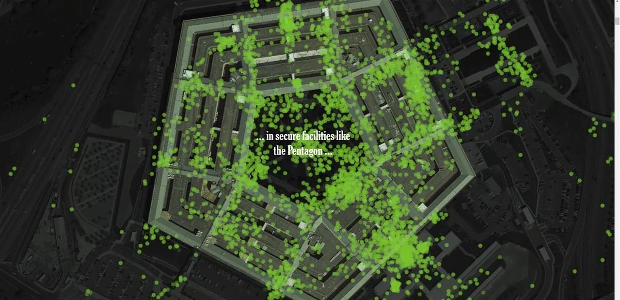 Inquiétante enquête au New York Times : 12 millions de smartphones, 50 milliards de géolocalisations