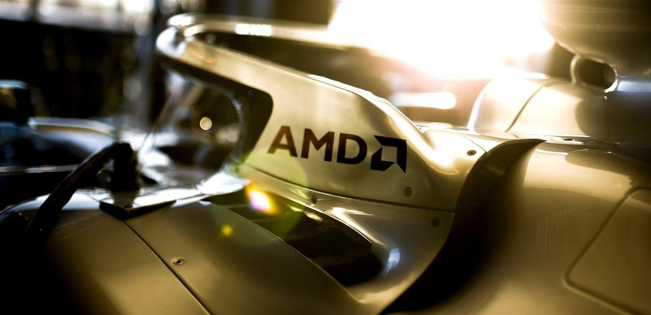 Formule 1 : AMD partenaire de Mercedes-AMG Petronas