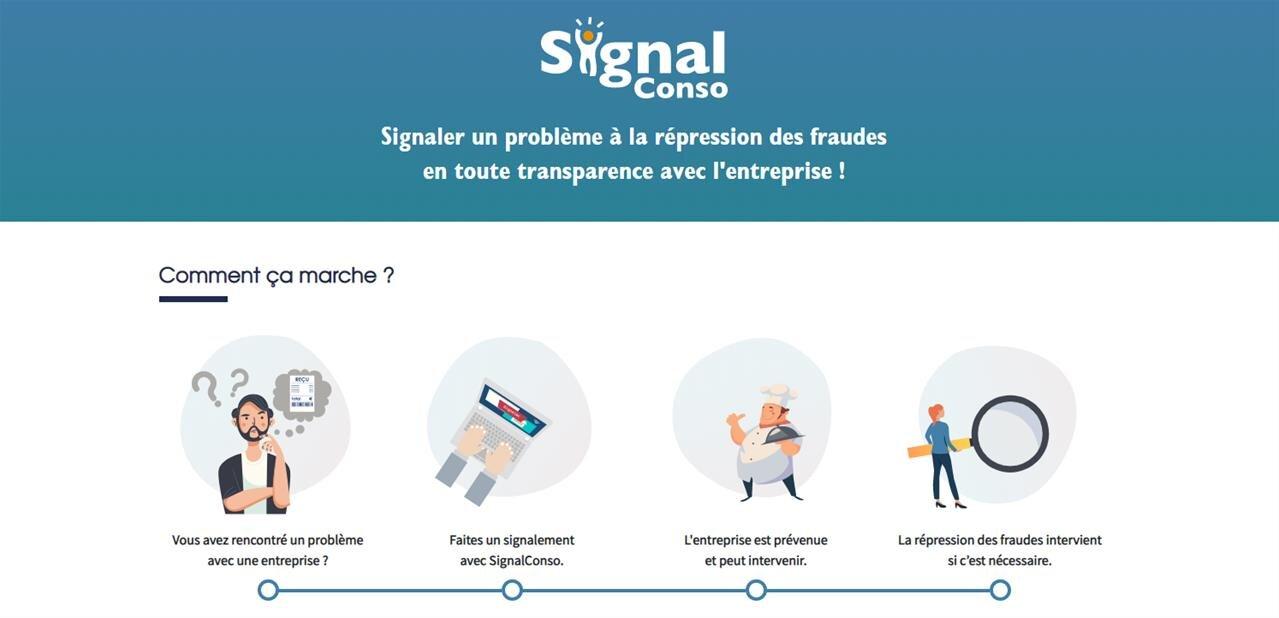 La DGCCRF généralise la plateforme SignalConso