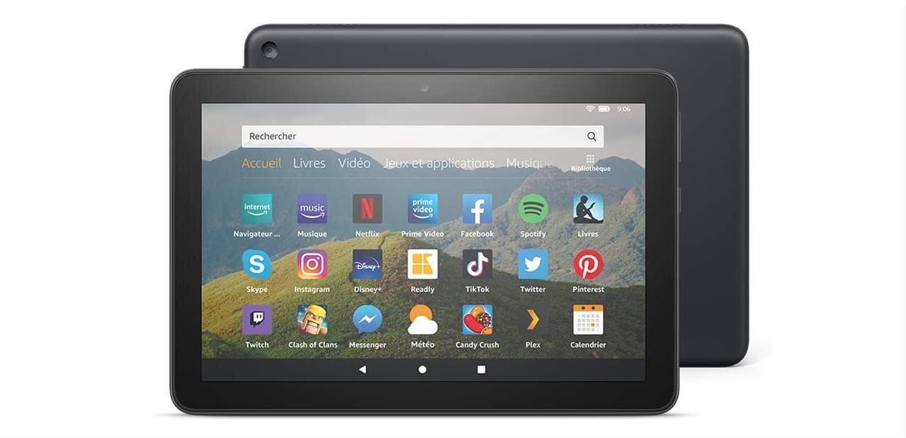 Amazon renouvelle sa tablette Fire HD 8 : SoC plus rapide et USB Type-C, dès 99,99 euros