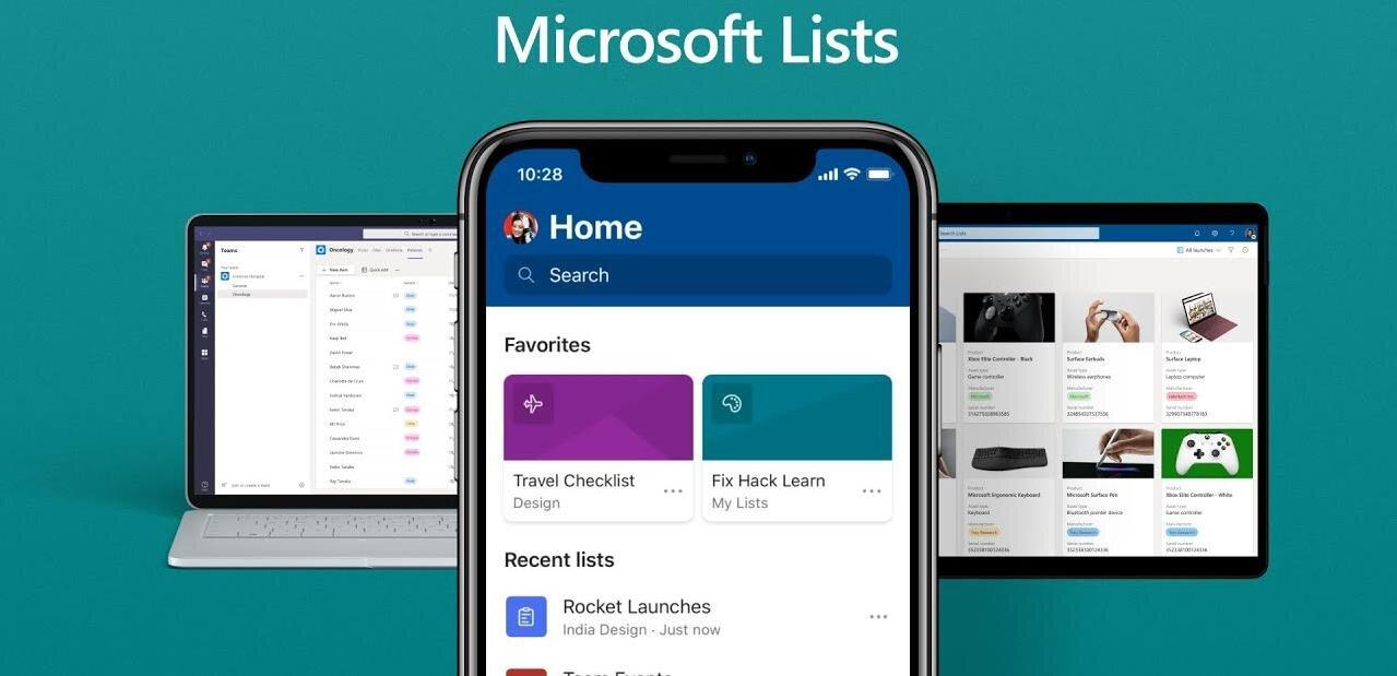 Microsoft annonce Lists pour compléter Teams, SharePoint et Outlook
