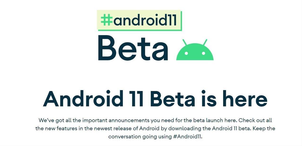 La seconde bêta d'Android 11 est disponible