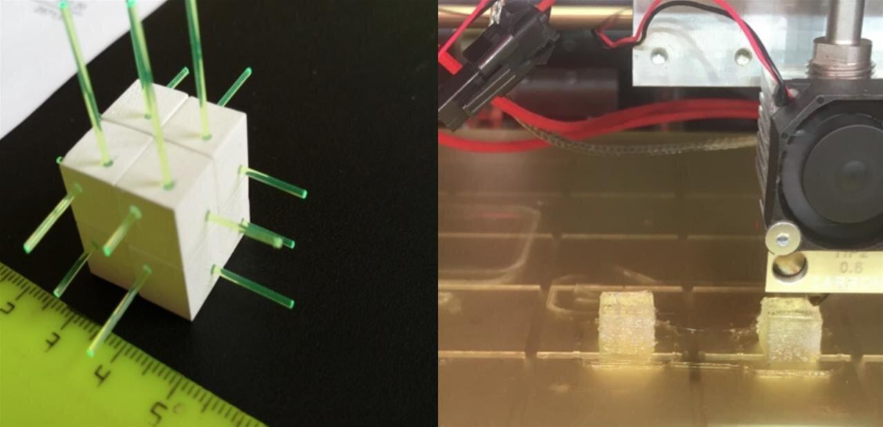 Au CERN, des détecteurs de neutrinos imprimés en 3D